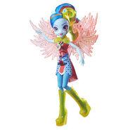 Legend of Everfree Crystal Wings Rainbow Dash doll