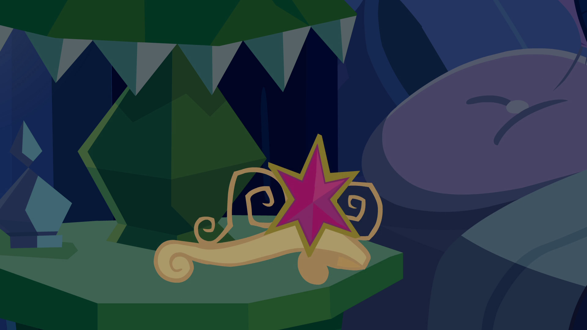 Archivo:Fake crown placed on nightstand EG.png