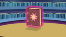 Celestia's book levitates off the table EG2
