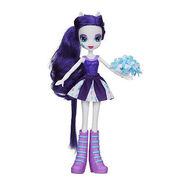 Equestria Girls Rarity Pep Rally doll