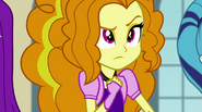 Adagio looks at the Rainbooms curiously EG2