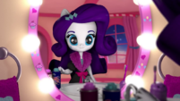 Rarity looking at herself in the mirror EGM3