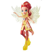 Legend of Everfree Crystal Wings Sunset Shimmer doll