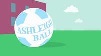 Ashleigh Ball credit soccer ball EG opening
