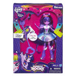 Rainbow Rocks Twilight Sparkle singing doll packaging