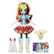 Friendship Games ASDA Rainbow Dash doll