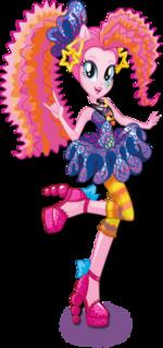 Pinkie Pie Rainbow Rocks character bio art 2