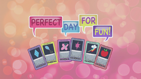 Perfect Day for Fun title card EG2