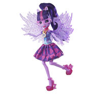 Legend of Everfree Crystal Wings Twilight Sparkle doll