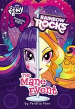 Equestria Girls Rainbow Rocks The Mane Event cover.jpg