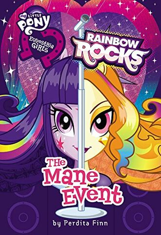 Archivo:Equestria Girls Rainbow Rocks The Mane Event cover.jpg