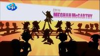 "My Little Pony Equestria Girls Rainbow Rocks ""Written by"" Credit - French"