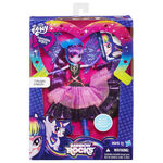 Rainbow Rocks Deluxe Dress Twilight Sparkle doll packaging