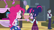 Human Twilight meets Pinkie Pie EG3