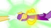 Magic energy surrounds Midnight Sparkle EG3