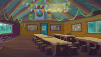 Legend of Everfree background asset - Camp Everfree activity room