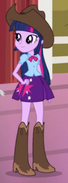 Twilight Sparkle rodeo outfit EG2