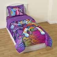 Twilight Sparkle, Rainbow Dash, and Pinkie Pie bedset