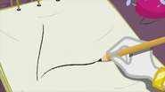Rarity drawing on sketch pad EG2