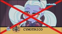 "Friendship Games Sugarcoat misspells ""cymotrichous"" - Italian"