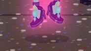 Pinkie levitating off the floor EG3