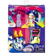 Rainbow Rocks Sapphire Shores Fashion Doll packaging