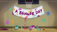 A Banner Day animated short title card EG3