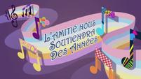Rainbow Rocks Short 10 Title - French