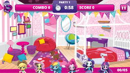 MLPEG Pinkie Pie Slumber Party Game screenshot 2