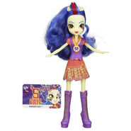 Friendship Games School Spirit Indigo Zap doll