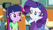 "Rarity ""it's a nice theory"" EG"