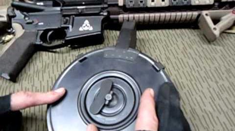 AR15 110 Round Norinco Drum