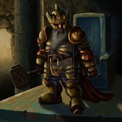 Dwarf king by apadude-d37u716