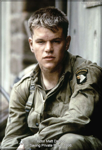 Matt Damon Private Ryan