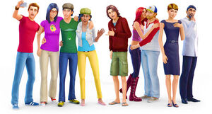 The Sims Based On