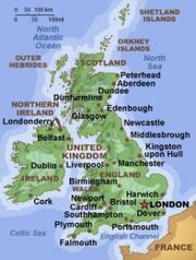 UnitedKingdom map