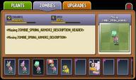 Spring Buckethead Zombie Almanac Entry