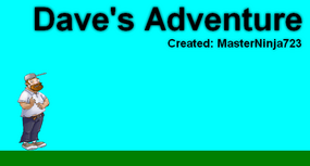 Dave's Adventure Promo Image