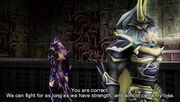 Kain y Guerrero Dissidia 012 English