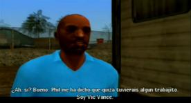 Vic vance presentadose ante Marty