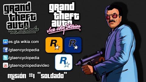 """1º GTA Vice City Stories - Introducción Misión 1 - """"Soldado"""""""