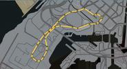 Trayecto carrera Aeropuerto