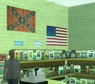 Bandera de los confederados