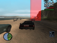 GTA SA Badlands B - Carrera 6