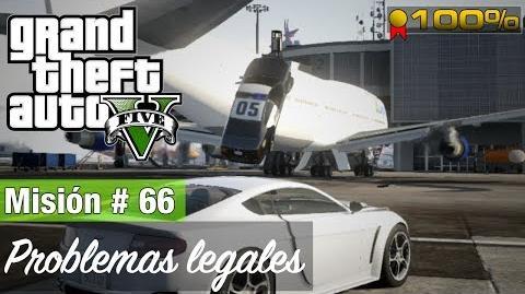"Grand Theft Auto V - ""Problemas legales"""