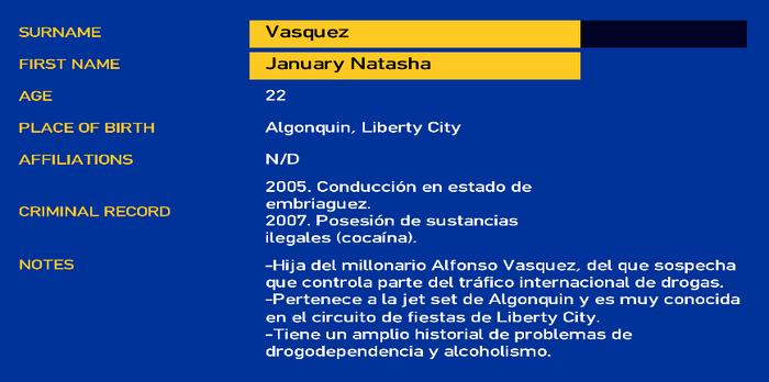 January vasquez