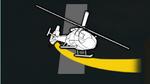Circuito con helicoptero