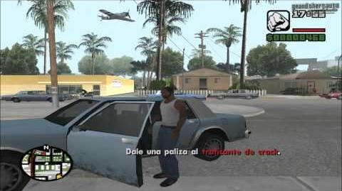 GTA San Andreas Mission Cleaning the Hood (HD)