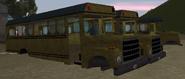 Restos del bus escolar en GTA III