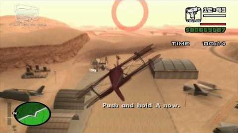 GTA San Andreas - Pilot School 9 - Barrel Roll (HD)